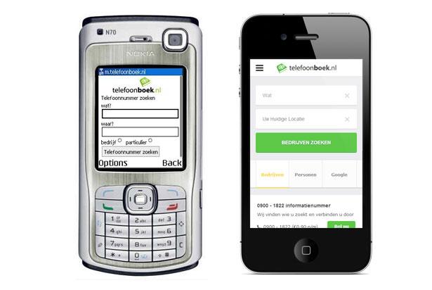 mobiele-website-telefoonboek-vroeger-nu