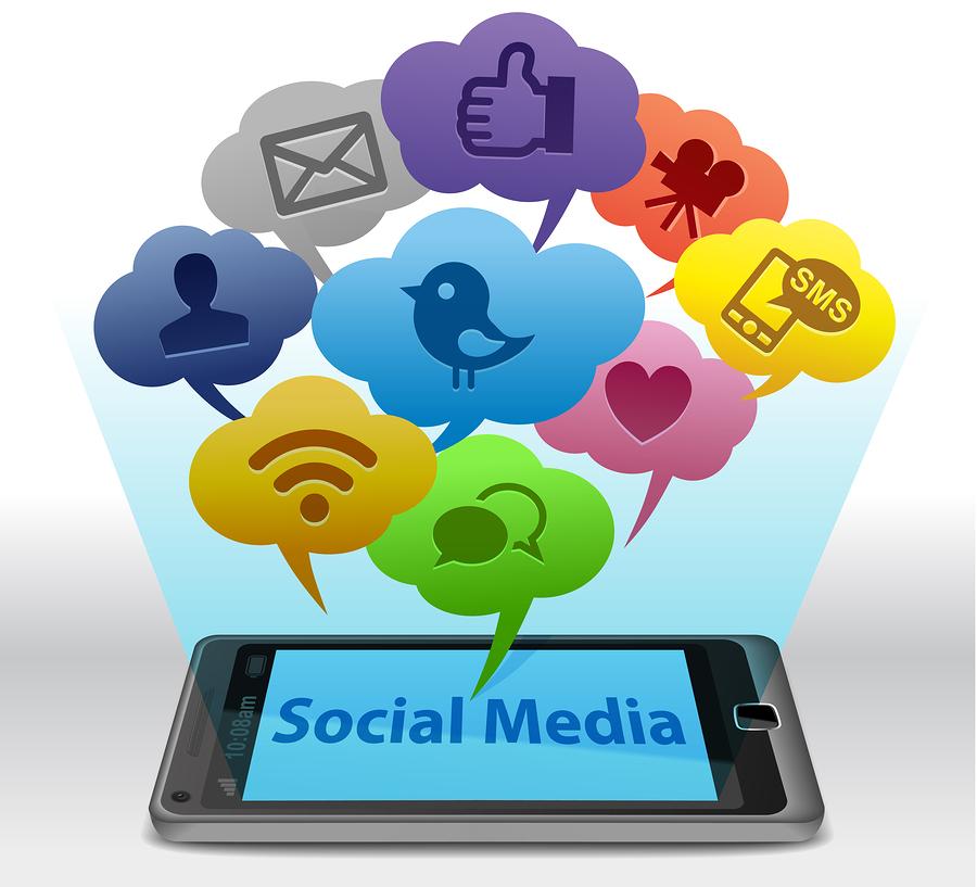 bigstock-Social-media-on-Smartphone-21485075