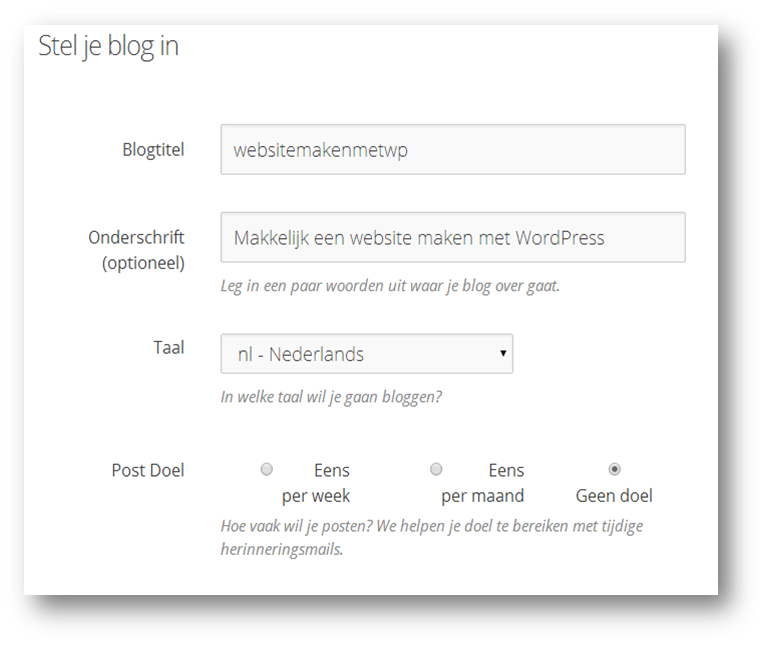 WordpressTitel