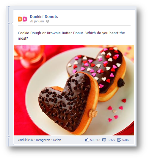 Dunkin' Donuts - facebook