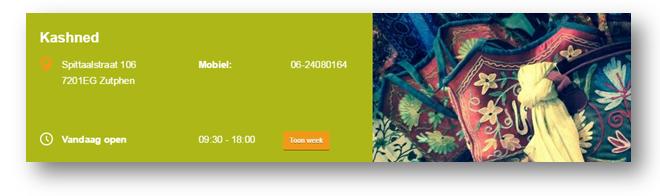 Kashned maakte dmv Places Websites een eigen website aan.