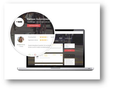 Met Places Reviews verzamelt u gemakkelijk beoordelingen van uw bedrijf.